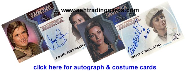 Click here for Autograph & Costume Cards