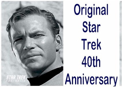Star Trek The Original Series 40th Anniversary - Click Here